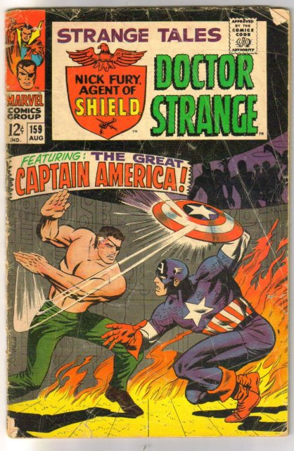 Strange Tales #159 comic book good/very good 3.0