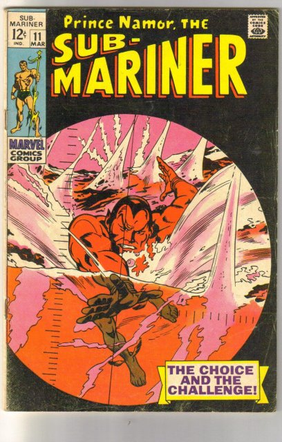Prince Namor, the Sub-Mariner #9 comic book very good plus 4.5