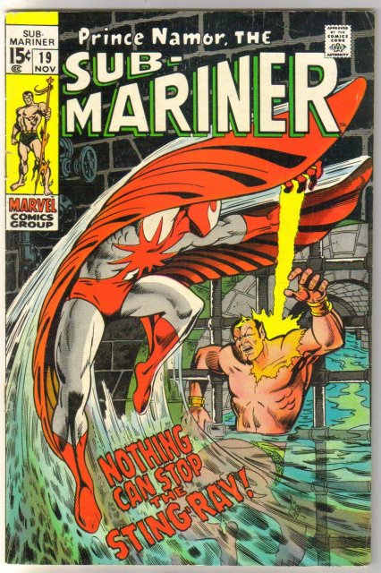 Prince Namor, the Sub-Mariner #19 comic book very good/fine 5.0