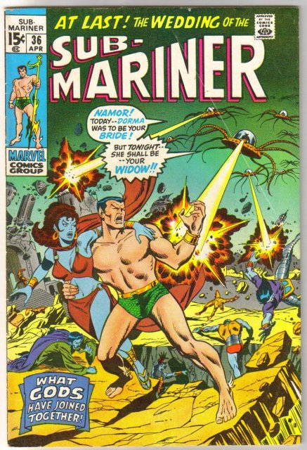 Prince Namor, the Sub-Mariner #36 comic book very good/fine 5.0