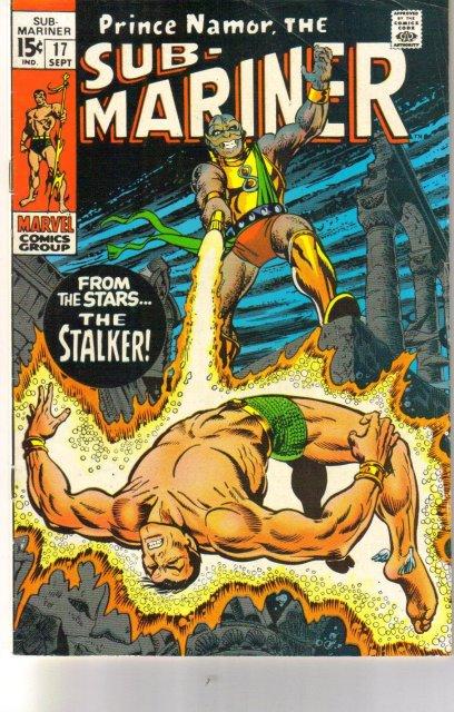 Prince Namor, the Sub-Mariner #17 comic book fine 6.0