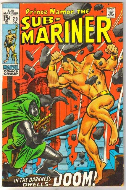 Prince Namor, the Sub-Mariner #20 comic book fine 6.0