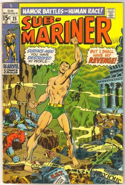 Prince Namor, the Sub-Mariner #25 comic book fine 6.0