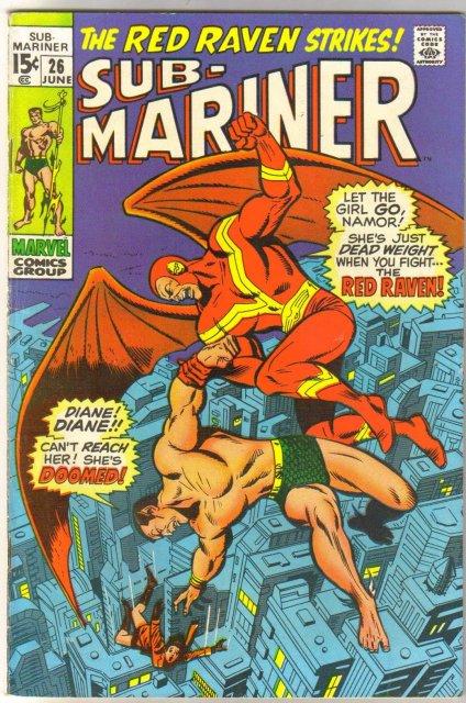 Prince Namor, the Sub-Mariner #26 comic book fine 6.0