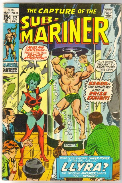Prince Namor, the Sub-Mariner #32 comic book fine 6.0