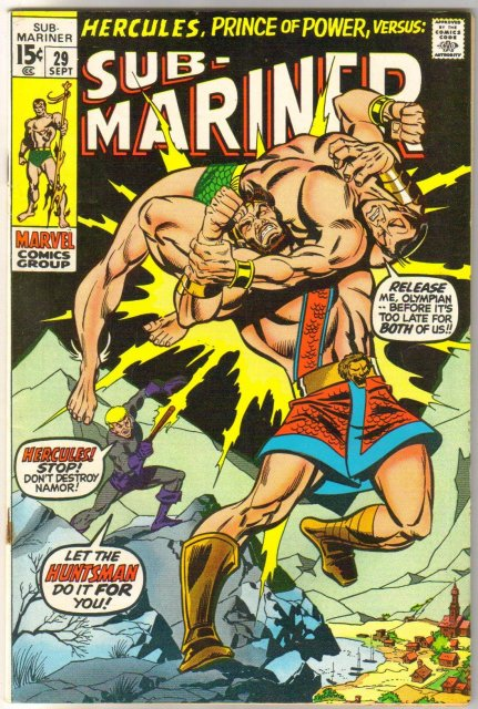 Prince Namor, the Sub-Mariner #29 comic book fine/very fine 7.0