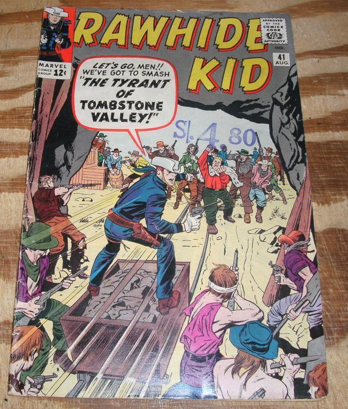 Rawhide Kid #41 good/very good 3.0