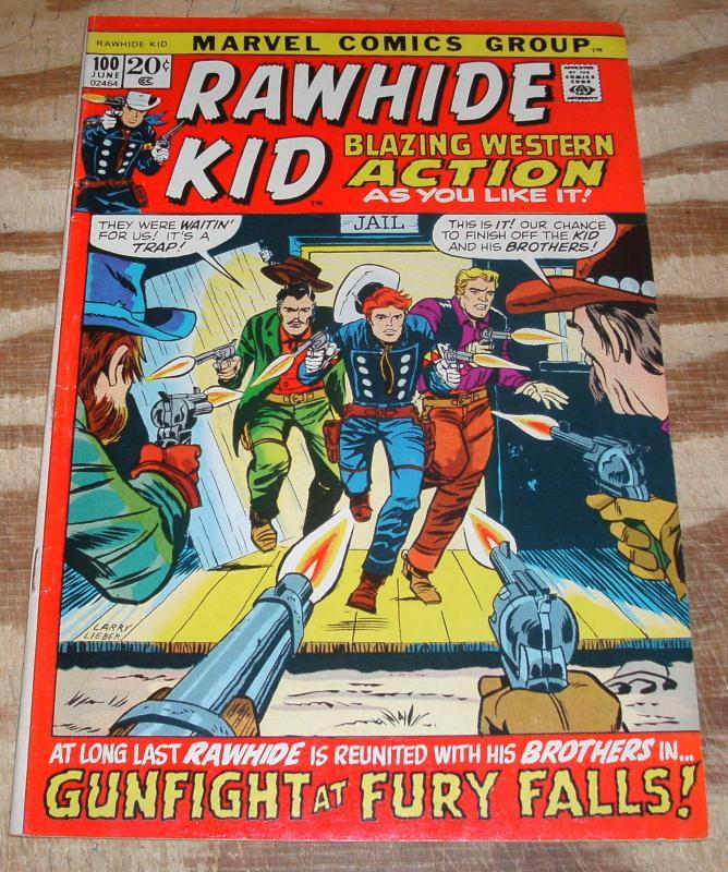Rawhide Kid #100 vf/nm 9.0