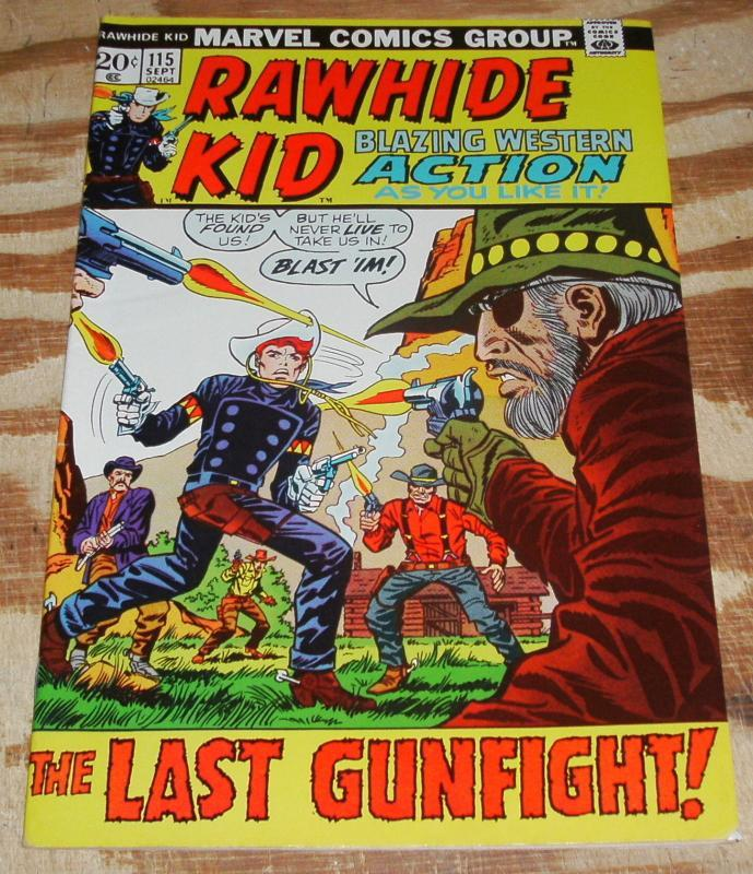Rawhide Kid #115 very fine/near mint 9.0