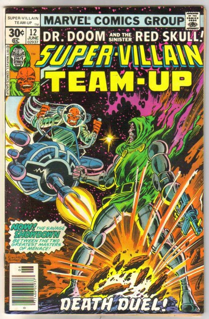 Super-Villain Team-Up #12 comic book very fine 8.0