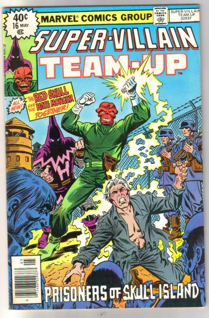 Super-Villain Team-Up #8 featuring Red Skull and Hate Monger  comic book very fine/near mint 9.0