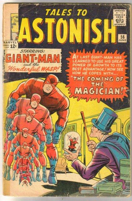Tales to Astonish #56 comic book fair 1.5