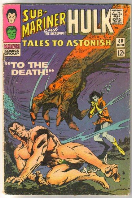 Tales to Astonish #80 comic book very good 4.0