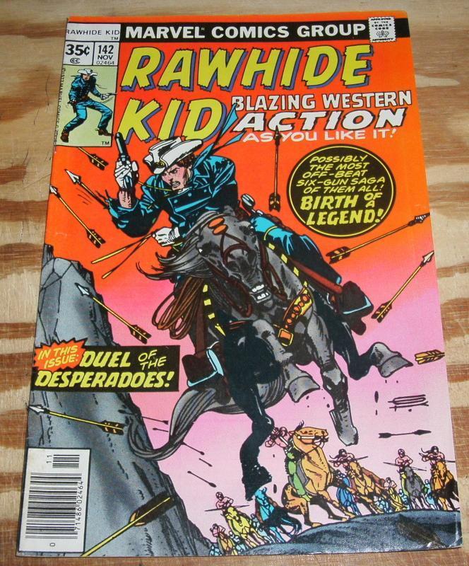 Rawhide Kid #142 very fine/near mint 9.0