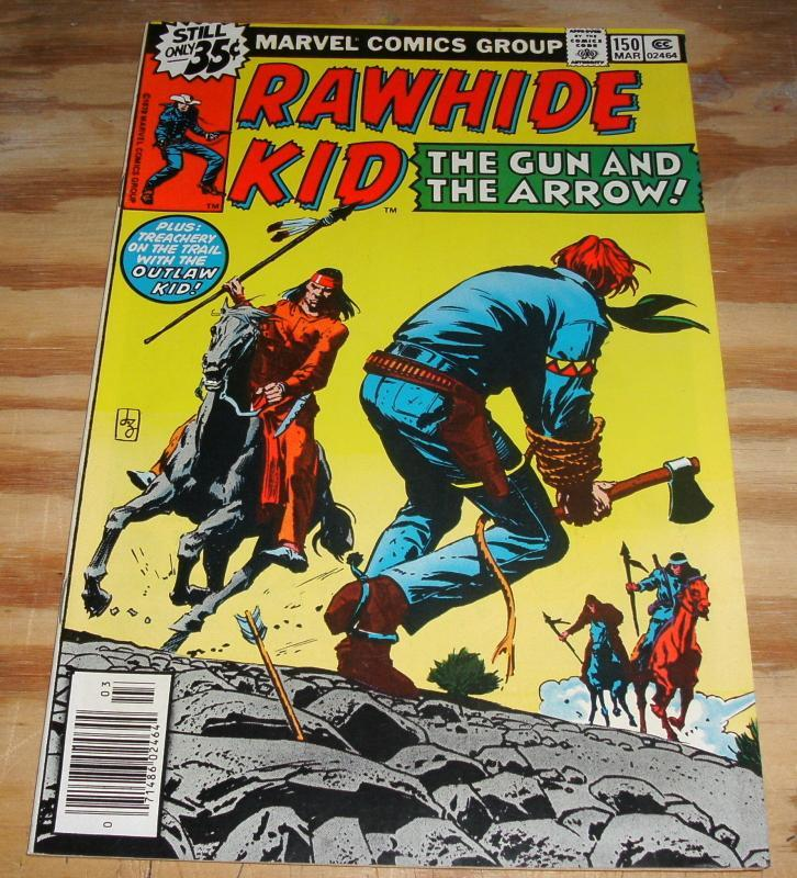 Rawhide Kid #150 near mint/mint 9.8