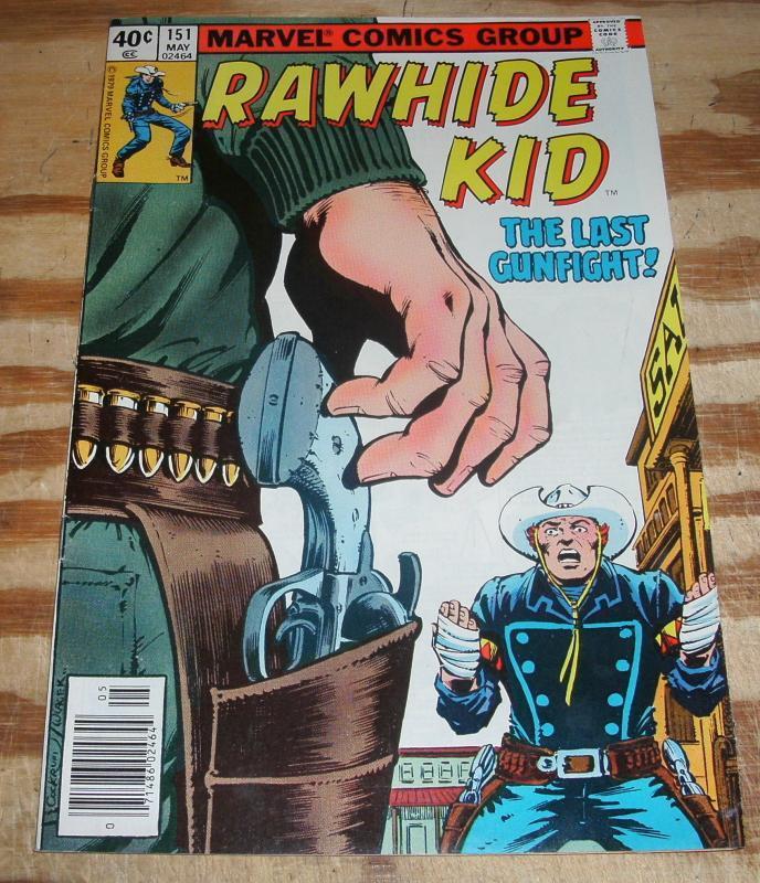 Rawhide Kid #151 near mint plus 9.6