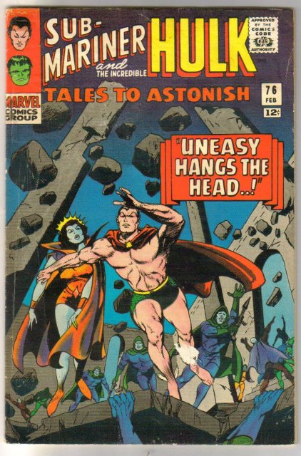 Tales to Astonish #76 comic book very good 4.0