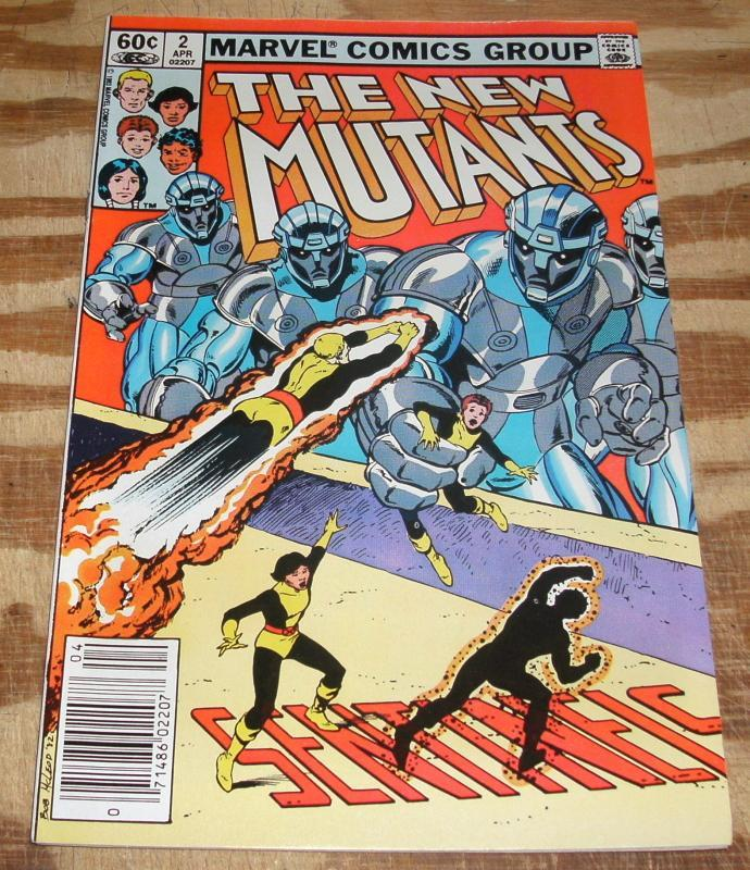 New Mutants #2 near mint/mint 9.8