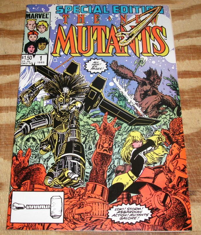 New Mutants Special Edition #1 near mint/mint 9.8