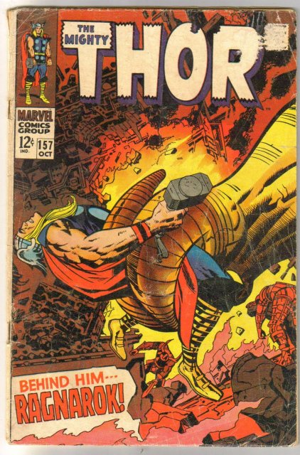 The Migfhty Thor #157 comic book good  2.0