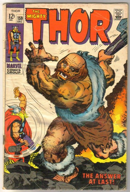 The Migfhty Thor #159 comic book good  2.0