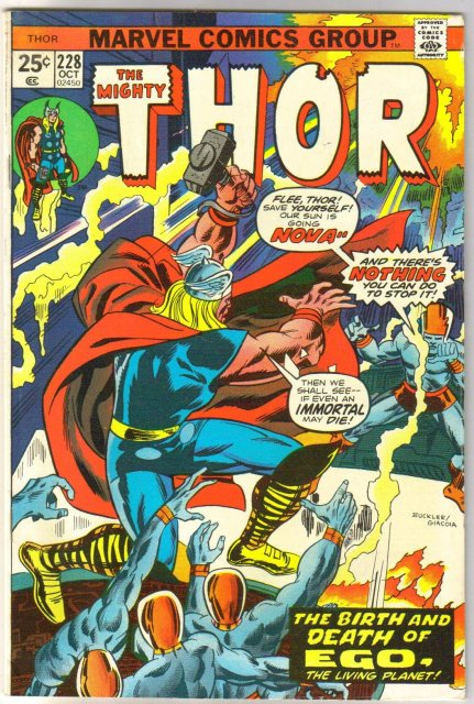 The Mighty Thor #228 comic book very fine 8.0