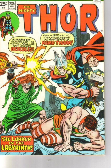 The Mighty Thor #235 comic book very fine 8.0