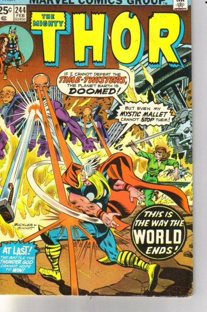 The Mighty Thor #244 comic book very fine 8.0
