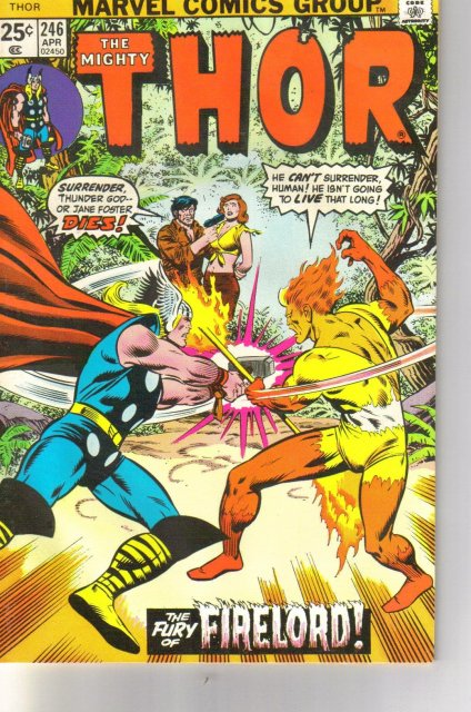The Mighty Thor #246 comic book very fine 8.0