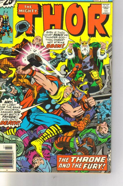 The Mighty Thor #249 comic book very fine/near mint 9.0