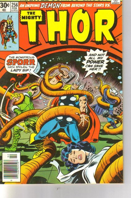 The Mighty Thor #256 comic book near mint 9.4