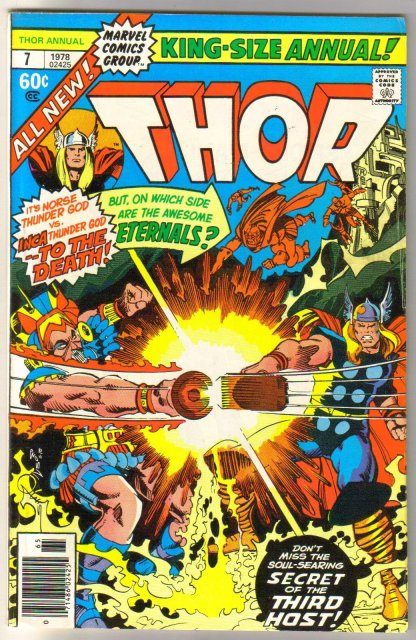 The Mighty Thor Annual #7 comic book  very fine 8.0