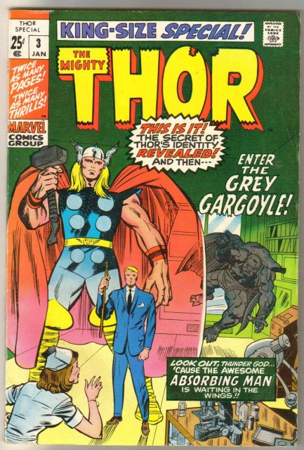The Mighty Thor Special #3 comic book  fine 6.0