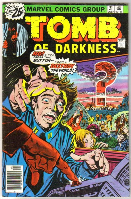 Tomb of Darkness #21 comic book very good/fine 5.0