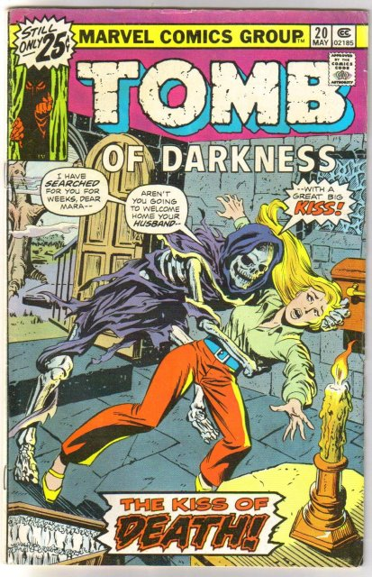 Tomb of Darkness #20 comic book very good/fine 5.0