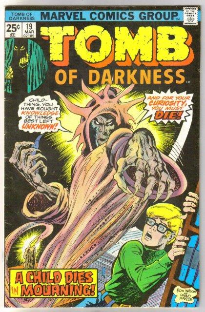 Tomb of Darkness #19 comic book fine 6.0