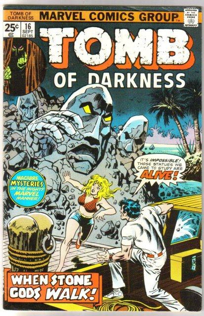 Tomb of Darkness #16 comic book fine 6.0
