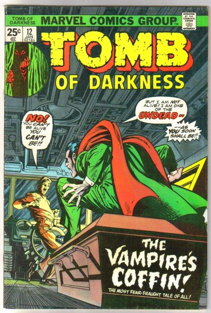Tomb of Darkness #12 comic book fine 6.0