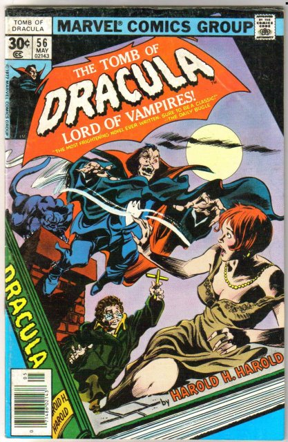 Tomb of Dracula #56 comic book very good/fine 5.0