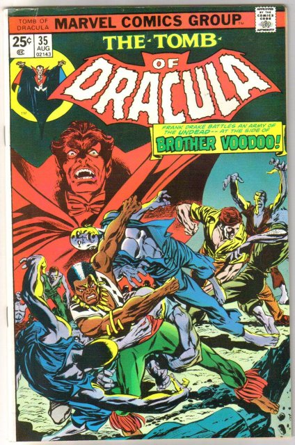 The Tomb of Dracula #35 comic book fine 6.0
