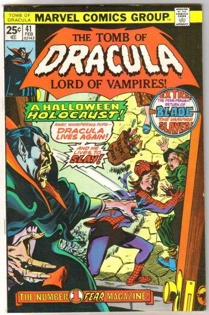 The Tomb of Dracula #41 comic book fine 6.0