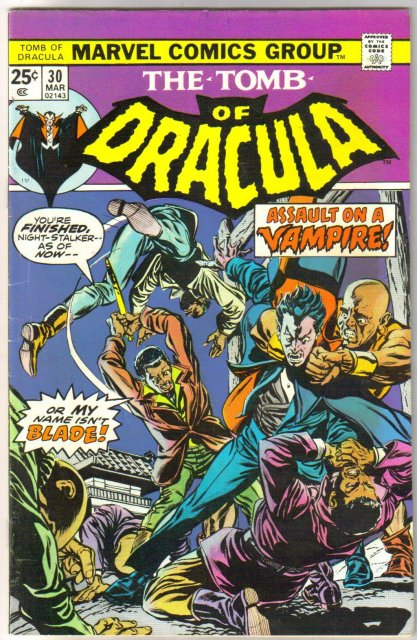 The Tomb of Dracula #30 comic book fine/very fine 7.0