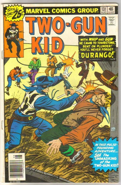 Two-Gun Kid #131 comic book  fine 6.0