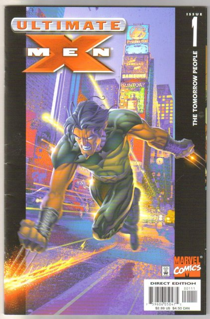 Ultimate X-Men #1 comic book near mint 9.4