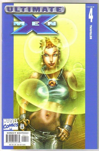 Ultimate X-Men #4 comic book near mint 9.4