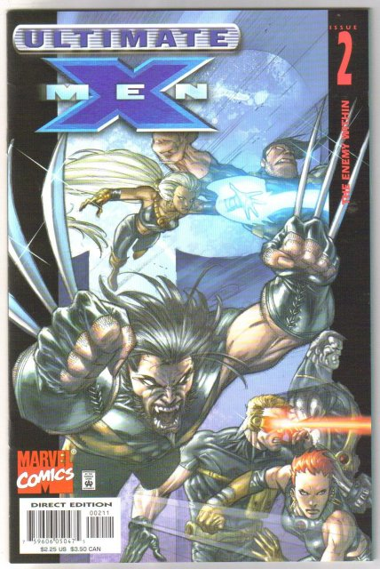 Ultimate X-Men #2 comic book mint 9.8