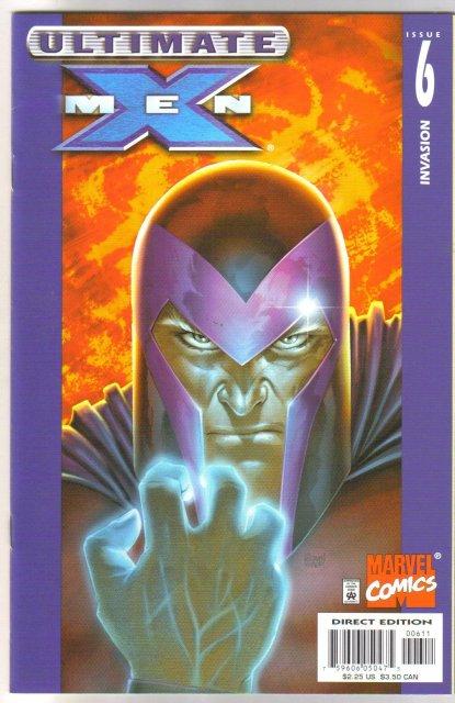Ultimate X-Men #6 comic book mint 9.8