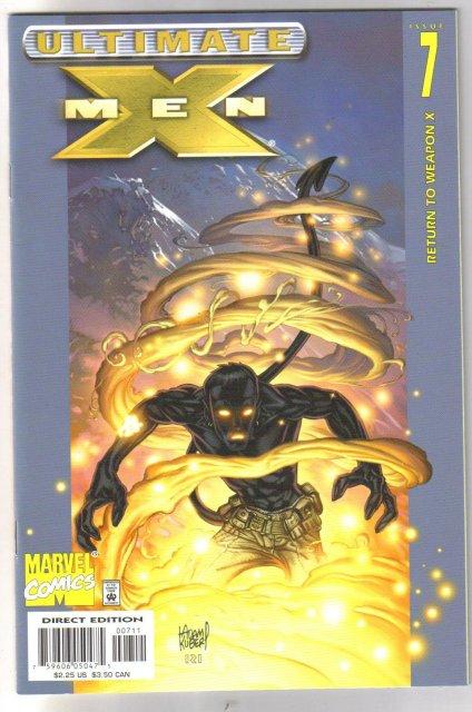 Ultimate X-Men #7 comic book mint 9.8