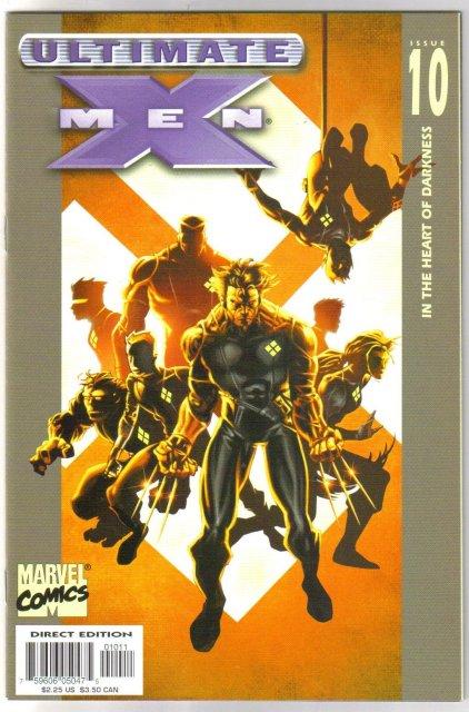 Ultimate X-Men #10 comic book mint 9.8