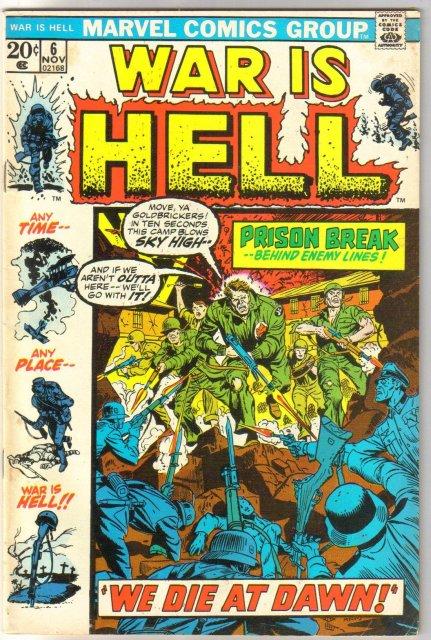 War Is Hell #6 comic book fine/very fine 7.0
